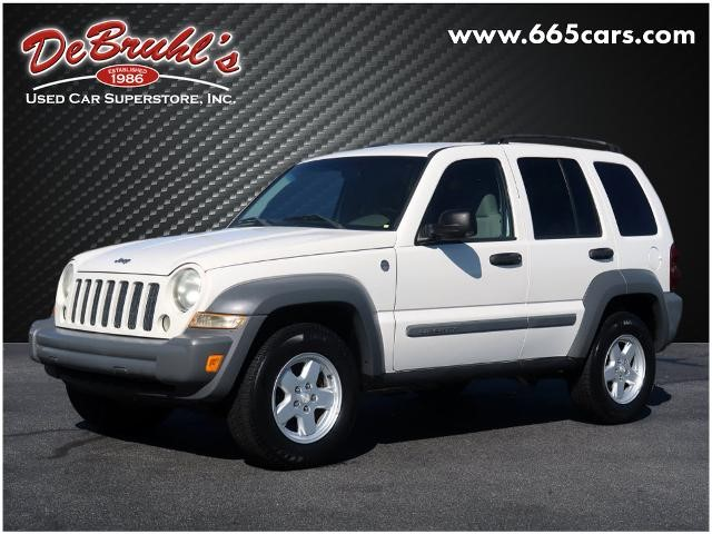 Picture of a used 2005 Jeep Liberty Sport
