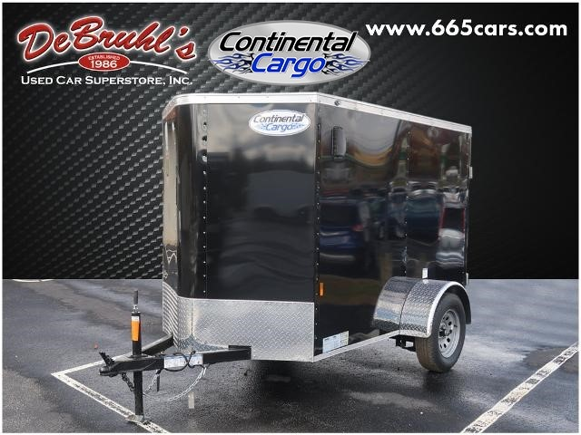 Picture of a used 2021 Continental Cargo CC58SA Cargo Trailer (New)