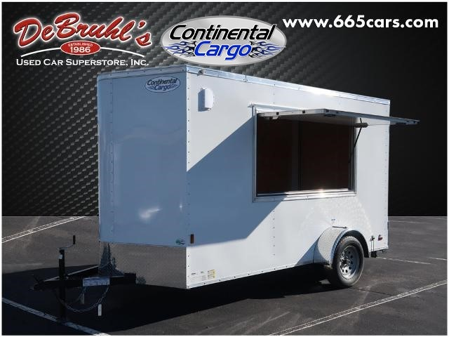 Picture of a used 2021 Continental Cargo CC612SA CONCESSION* Cargo Trailer (New)