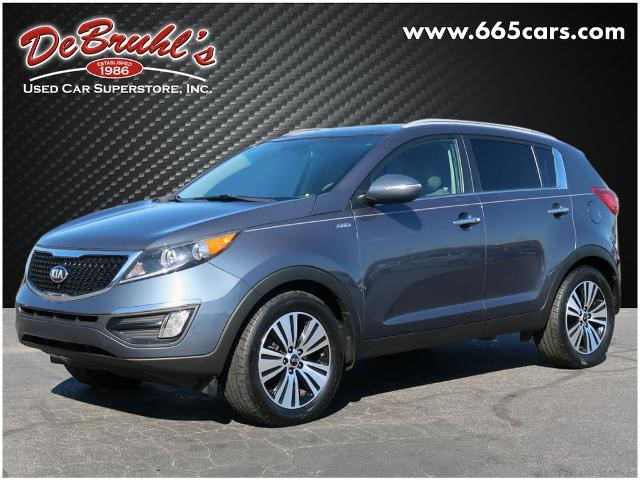 Picture of a used 2015 Kia Sportage EX
