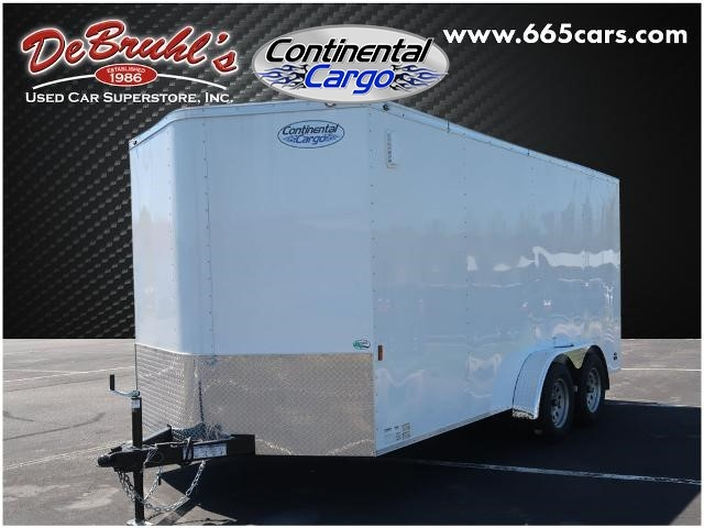 Picture of a used 2022 Continental Cargo CC716TA2 Cargo Trailer (New)