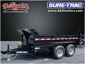 Picture of a 2021 Sure-Trac 6X10  10K SINGLE RAM Dump Trailer (New)