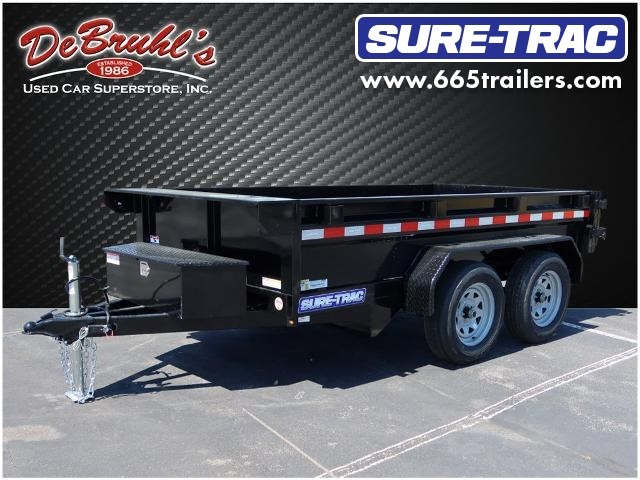 Picture of a used 2021 Sure-Trac 5X10  7K  SINGLE RAM Dump Trailer (New)