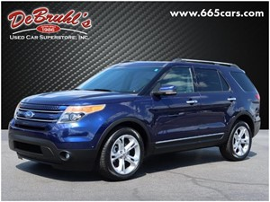 Picture of a 2011 Ford Explorer Limited