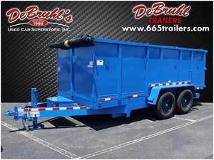 Picture of a 2021 DeBruhl Trailers 7x14 Dual Ram 14k Dump Trailer (New)