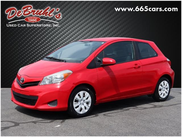 Picture of a used 2014 Toyota Yaris 3-Door L