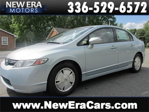 2006 Honda Civic Hybrid Great Mpgs! Nice! Winston Salem NC