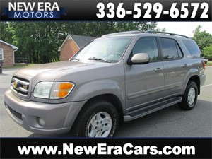 2002 Toyota Sequoia Limited LEATHER! Cheap! Winston Salem NC