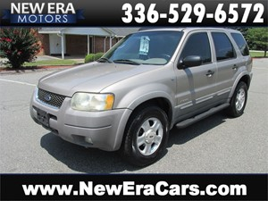 2001 Ford Escape XLT 4WD Leather! Cheap! Winston Salem NC