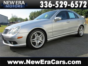 2005 Mercedes-Benz C-Class C55 AMG RARE! FAST! Leather! for sale by dealer