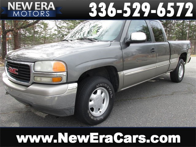 GMC Sierra 1500 SL Ext. Cab 1 Owner 4x4 in Winston Salem