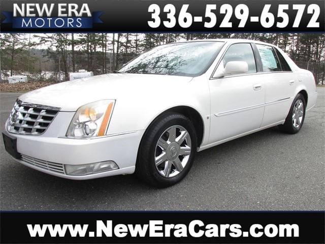 Cadillac DTS Sedan Pearl White Tan Leather in Winston Salem