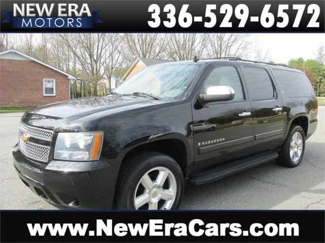 Chevrolet Suburban LTZ 4WD 3rd Row DVD Leather in Winston Salem