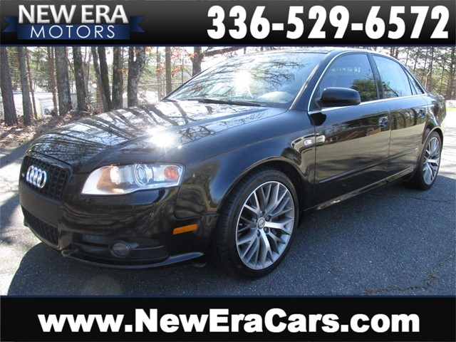 Audi A4 2.0T Quattro S-Line Tons of Features in Winston Salem