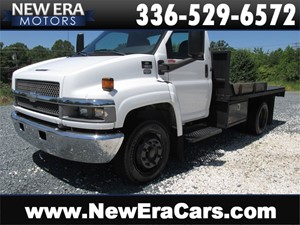 2007 Chevrolet C5500 Flat Bed, Ready For Work for sale by dealer
