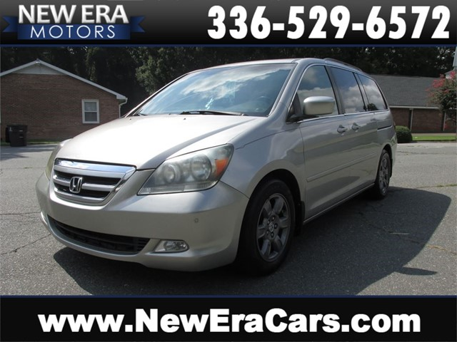 Honda Odyssey Touring w/DVD, Leather, Seats 7 in Winston Salem