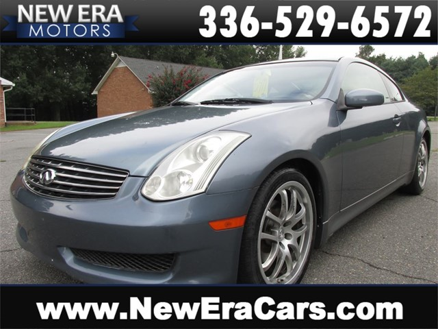 Infiniti G35 Coupe, RWD, 300+ HP, Leather, Alloys in Winston Salem