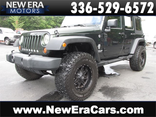 Jeep Wrangler Unlimited Sport 4WD-COMING SOON in Winston Salem