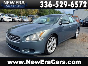 2009 NISSAN MAXIMA SV Leather Sunroof Loaded CARFAX for sale by dealer