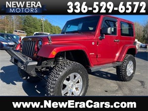 Picture of a 2012 JEEP WRANGLER SAHARA 6 inch lift 35 Tires Hardtop