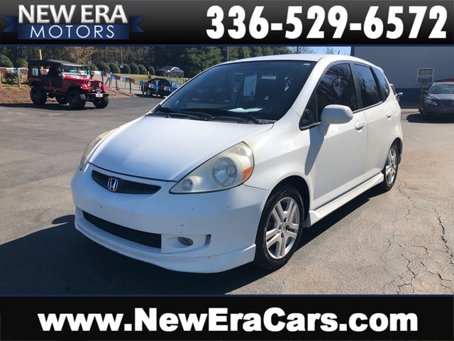 HONDA FIT S NO ACCIDENTS in Winston Salem