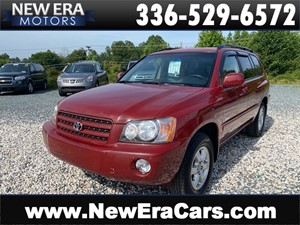 Picture of a 2002 TOYOTA HIGHLANDER LTD NO ACCIDENTS NC OWNED