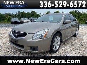 2007 NISSAN MAXIMA 3.5SE 1 OWNER, NO ACCIDENTS for sale by dealer