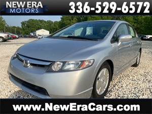 2006 HONDA CIVIC HYBRID 1 OWNER, NO ACCIDENTS for sale by dealer