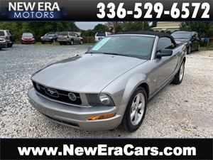 2008 FORD MUSTANG PREMIUM NC OWNED for sale by dealer